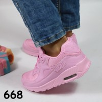 кроссовки pink 668